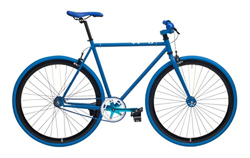 CHEETAH Unisex's 3.0 Fixed Gear Bicycle, Matt Blue, Size 59