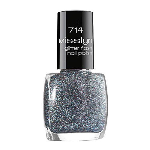 Misslyn Glitter Flash Nail Polish Nr.714 stay with me, 10 ml