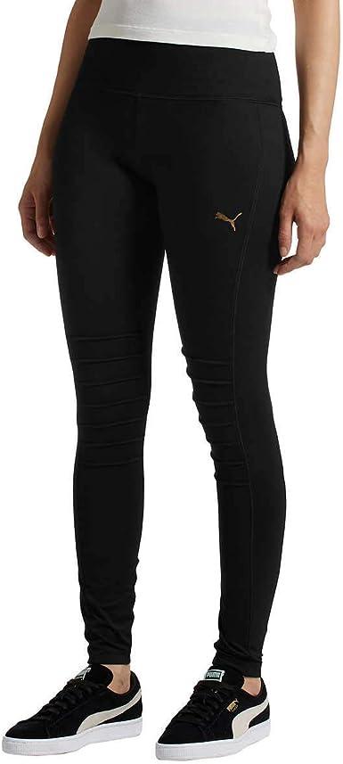Amazon.com: PUMA Ladies Moto Tights Leggings : Clothing, Shoes ...