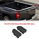Alpha Rider Stake Pocket Covers Caps Plugs For 2019 2020 Chevy Silverado/GMC Sierra Truck Bed Rail Hole (2 Sets)
