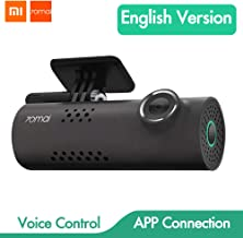 Xiaomi 70mai Smart Dash CAM con WiFi Incorporado, con Control de Voz, grabación de Emergencia, Panel de Control de App, HD...