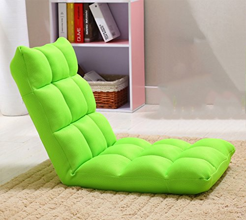 pillow Confortable Net Lazy Sofa (Couleur : Green, Taille : 52 * 110cm)