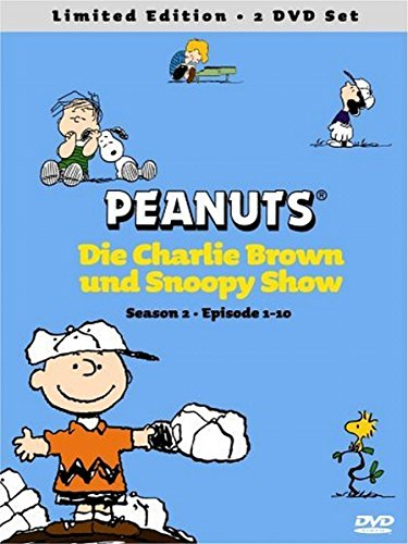 Die Peanuts Vol. 03 & 04 - Die Charlie Brown & Snoopy Show - Season 2, Episoden 1-10 (Limited Edition, 2 DVDs)