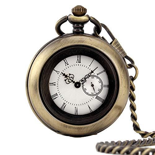Reloj de Bolsillo clásico Delicada Palacio de la Vendimia Tallada clásica Hueco...
