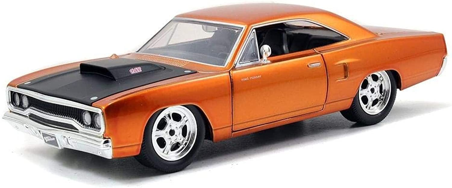 Fast & Furious 7 Dom's Plymouth Road Runner 1 24 Scale Diecast  Jada