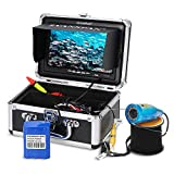 Godyluck Kit De Caméra Vidéo De Pêche sous-Marine, HD WiFi sans Fil Longueur du Câble De 15m