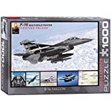 falcon 1000 - EuroGraphics F-16 Fighting Falcon Puzzle (1000-Piece), Model:6000-4956