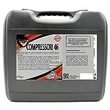 Aceite sintético para compresores de aire de tornillo rotativo y de paletas - Bidón de 20 litros - 46 COMPRESORES