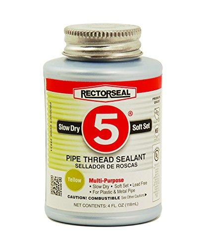 Rectorseal 25631 4-Ounce No. 5 Pipe Thread Sealant