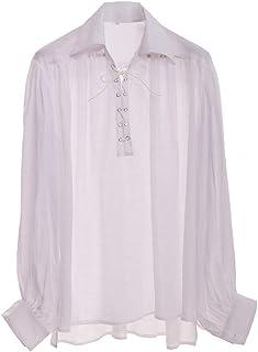 8e0f2842b3ac32 GRACEART Medieval Poet's Pirate Shirt Renaissance Costume