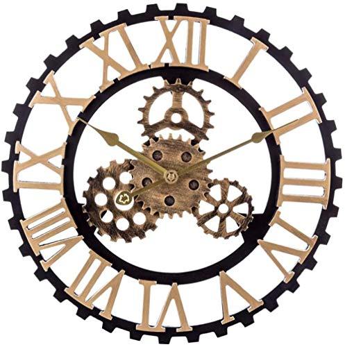 ZYZYY Reloj de pared 40 cm reloj de pared decoración del ho