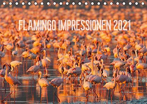 Flamingo Impressionen 2021 (Tischkalender 2021 DIN A5 quer)