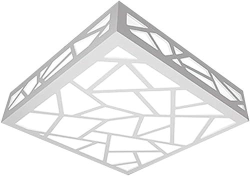 Plafonnier Couloir Porche Personnalité Créatif Lustre éclairage Moderne Minimaliste,25  25Cm, Lumière Blanche 12W