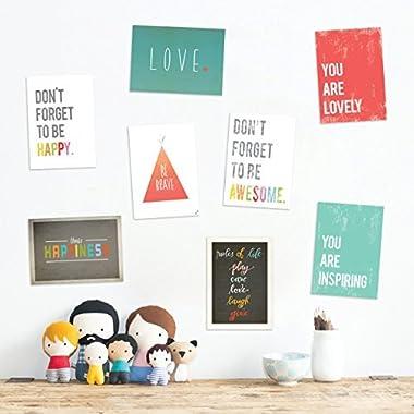 The Rules Mini Collection 5x7 Wall Art Prints, Typography, Nursery Decor, Kid's Wall Art Print, Kid's Room Decor, Gender Neutral, Motivational Word Ar