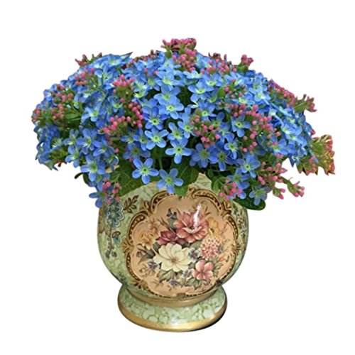 """Bodhi2000, 1bouquet con 72 fiori artificiali in seta """"non ti scordar di me"""", adatto per la decorazione e i matrimoni"""