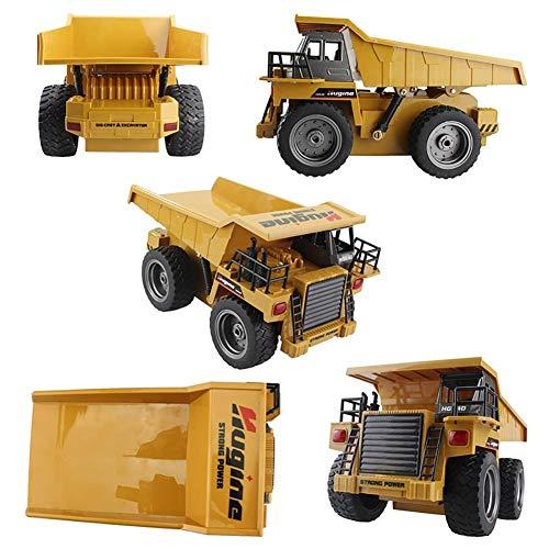 RC LKW kaufen LKW Bild 1: likeitwell 2.4G 6-Kanal-Vollfunktions-LKW 1:18 ferngesteuertes Kipper-Baufahrzeug-Spielzeug für Kinder*