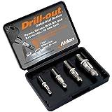 ALDEN Drill-Out Broken Bolt Extractors Set 4
