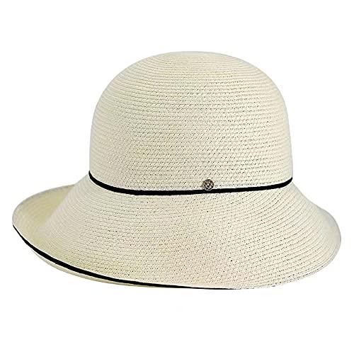 Linckry Sombrero de Pescador para Mujer, sombrilla de Verano, Sol, Paja Japonesa, Plegable, Transpirable, de Lino, Viaje, Protector Solar para Todo el Partido