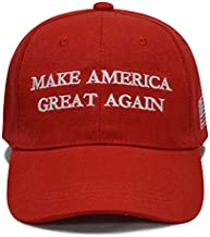 Besti Make America Great Again Donald Trump Slogan with USA Flag Cap Adjustable Baseball Hat