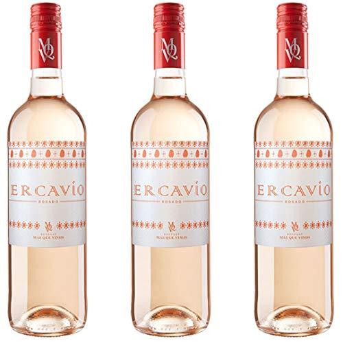 Ercavio Tempranillo Rosado Vino Rosado - 3 botellas x 750ml - total: 2250 ml