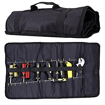 Pockets Socket Tool Roll Pouch Small Tool Bag