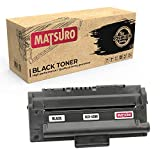 Matsuro Original | Compatible Cartucho de Toner Reemplazo para Samsung SCX-4300 (1 Negro)