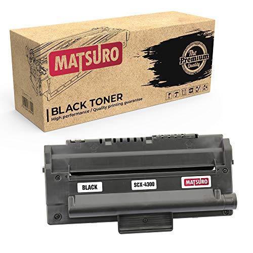 Matsuro Originale | Compatibili Cartuccia Del Toner Sostituire Per SAMSUNG SCX-4300 (1 NERO)