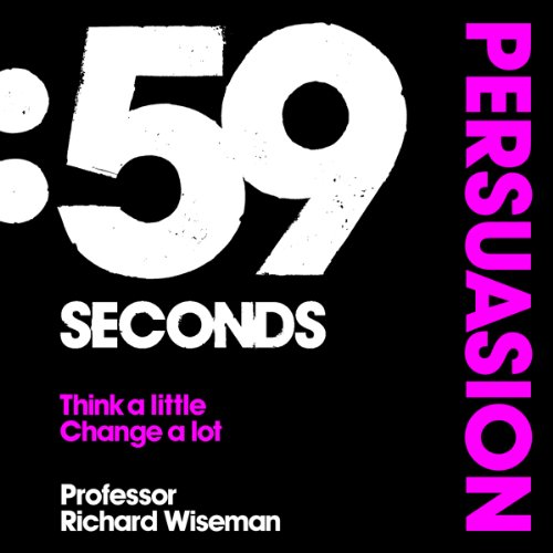 59 Seconds: Persuasion cover art