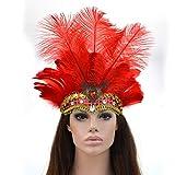 1x pluma de avestruz natural carnaval carnavales fiesta disfraz naturales 30cm