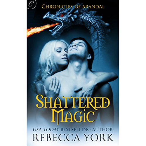 Shattered Magic audiobook cover art