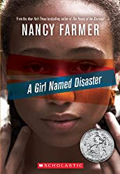 Books Set in Zimbabwe: A Girl Named Disaster by Nancy Farmer. zimbabwe books, zimbabwe novels, zimbabwe literature, zimbabwe fiction, zimbabwe authors, zimbabwe memoirs, best books set in zimbabwe, popular books set in zimbabwe, books about zimbabwe, zimbabwe reading challenge, zimbabwe reading list, harare books, bulawayo books, zimbabwe packing, zimbabwe travel, zimbabwe history, zimbabwe travel books, zimbabwe books to read, books to read before going to zimbabwe, novels set in zimbabwe, books to read about zimbabwe