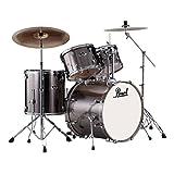 Exx 5-pcs drum set 2218b/1208t/1309t/1616f/1455s w/hw&cymb
