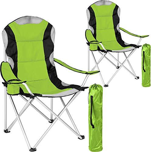 professionnel comparateur Chaise pliante TecTake, chaise de voyage avec porte-gobelet, sac de transport – rembourrage… choix