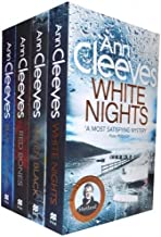 Ann Cleeves TV Shetland Series Collection 4 Books Set- Blue Lightning, Raven Black, White Nights, Red Bones by Ann Cleeves (2016-11-09)