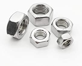 1/50/100Pcs A2 304 Stainless Steel Hex Hexagon Nut For M1 M1.2 M1.4 M1.6 M2 M2.5 M3 M4 M5 M6 M8 M10 M12 M16 M20 M24 Screw Bolt 5pcs M12