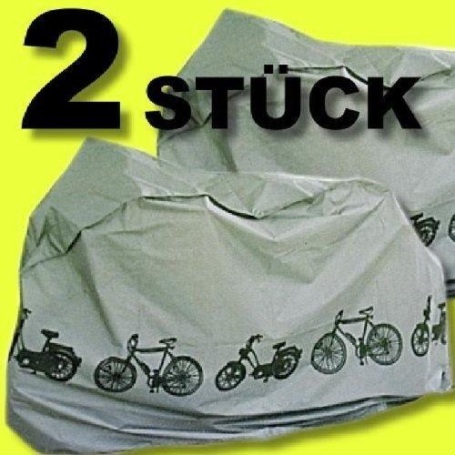 Set 2 Stück Fahrradgarage/n Abdeckhauben Schutzhauben Fahrradabdeckung