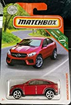Matchbox 2019 Mercedes Benz GLE Coupe RED