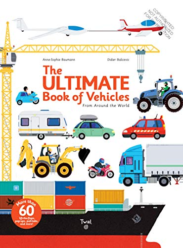 The Ultimate Book of Vehicles: F...