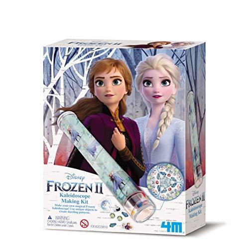 4M- Disney Frozen 2-Kit per Realizzare caleidoscopio, D406207