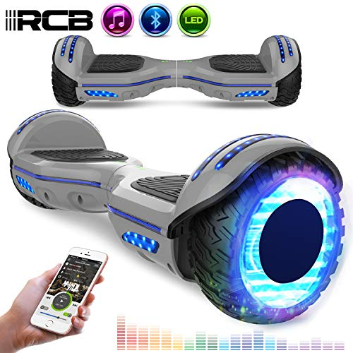 """RCB Hoverboard 6.5"""" con LED/Bluetooth"""