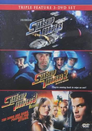 Starship Troopers / Starship Troopers 2: Hero of the Federation / Starship Troopers 3: Marauder - Set