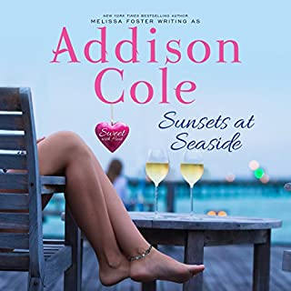 Sunsets at Seaside     Sweet with Heat: Seaside Summers, Book 4              By:                                                                                                                                 Addison Cole                               Narrated by:                                                                                                                                 Melissa Moran                      Length: 8 hrs and 24 mins     2 ratings     Overall 5.0