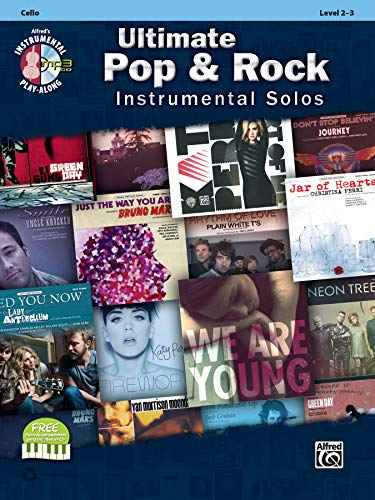 Ultimate Pop & Rock Instrumental Solos for Strings: Cello, Book & CD...