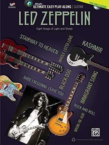 Ultimate Easy Guitar Play-Along: Led Zeppelin (Buch & DVD) (Alfreds Ultimate Easy Play-along)