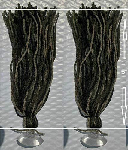 FidgetKute 5' Spawning Mops Camouflage 100 Strands + Suction...