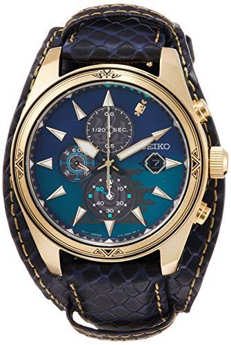 [セイコーウォッチ] 腕時計 セイコー セレクション モンスターハンター15周年コラボ ジンオウガ ソーラー クロノグラフ ウオッチパッド・メッセージカード付 シリアルナンバー入り SBPY156 メンズ ブラウン