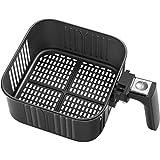 COSORI Replacement 5.8QT Black CP158, CS158 & CO158 Air Fryers, Non-Stick Fry Basket, Dishwasher Safe, C158-FB