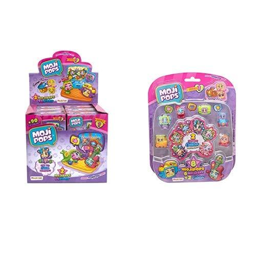 MOJIPOPS - Dipsplay de 12 Story Box con Figuras , Color/Modelo Surtido + I Like Pets con 2 exclusivas Figuras y Variedad de Accesorios , Color/Modelo Surtido