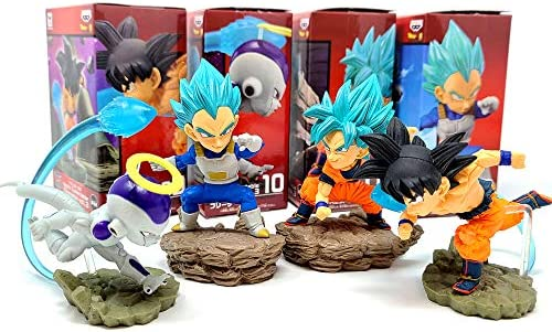 World Collectible Diorama WCF Prize Figure Collection Vol 3 Dragon Ball Super 4 pcs Set product image