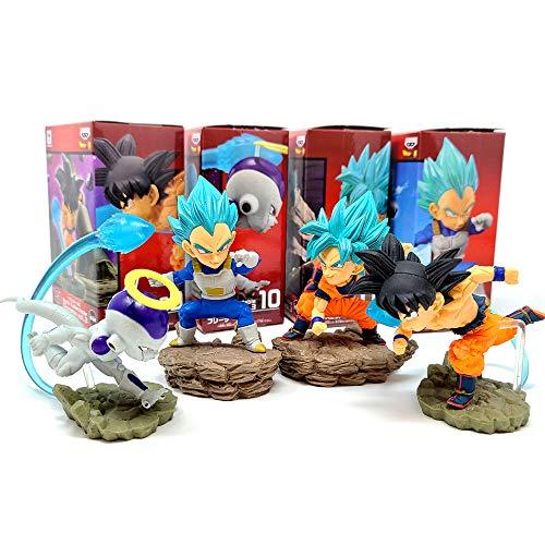 World Collectible Diorama WCF Prize Figure Collection Vol.3 Dragon Ball Super 4 pcs Set